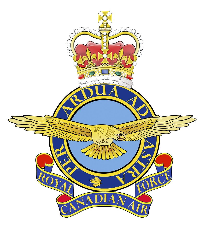 L'insigne de l'Aviation royale canadienne (avant l'unification)