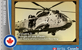 Cover of Sic Itur Ad Astra: Canadian Aerospace Power Studies Volume 5 - Wing's of the Fleet: 50 Years of the Canadian Sea King