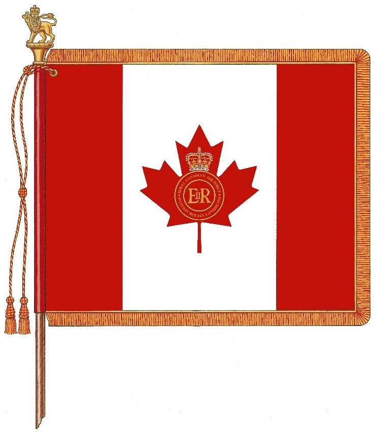Drapeau de la reine de l'Aviation royale canadienne