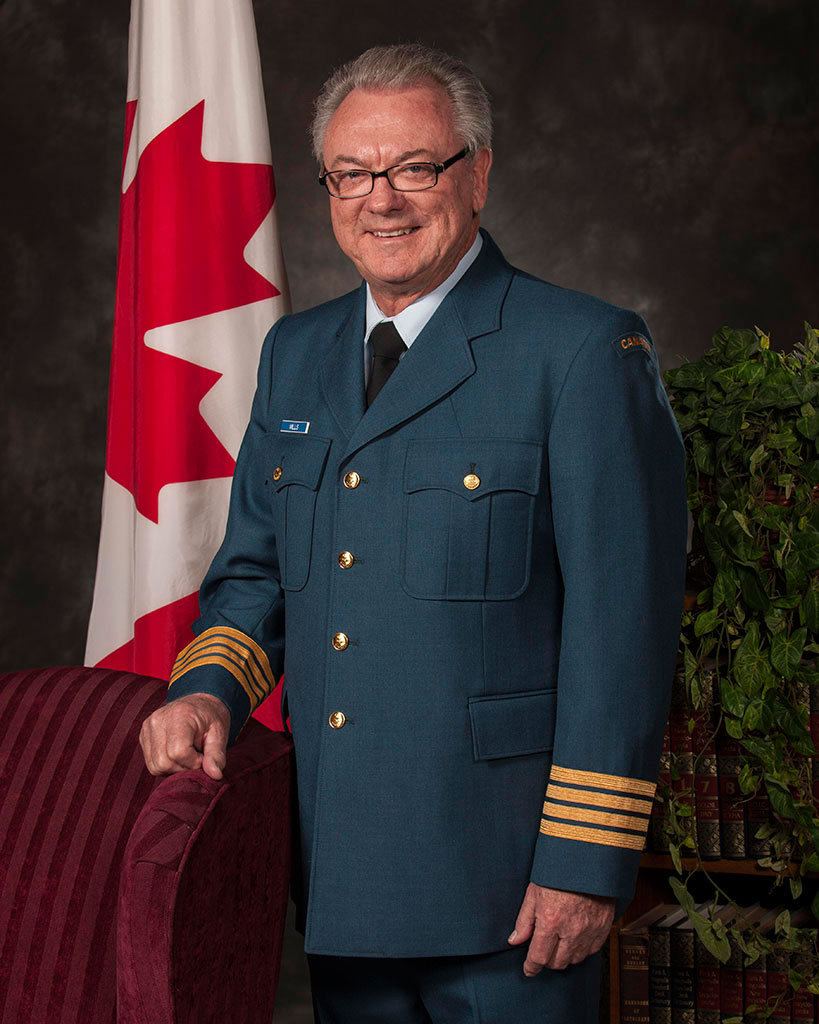Honorary Colonel William (Bill) Mills