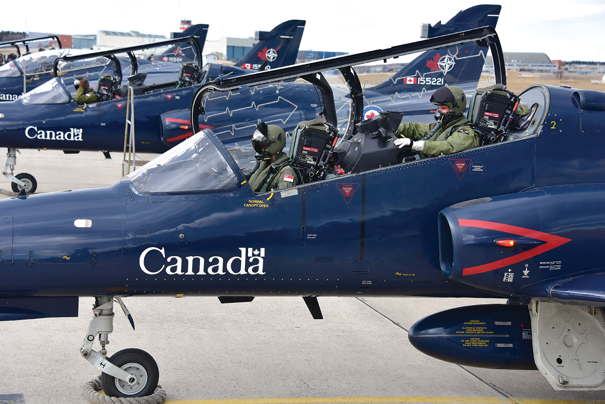 419 Squadron prepares students for fighter operations by instilling three critical competencies: situational awareness, capacity and dynamic decision-making. PHOTO: Mike Reyno, Skies magazine
