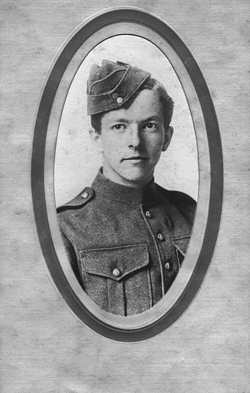 Cadet James Harold Talbot of the Royal Flying Corps Canada, died April 8, 1917. PHOTO: Borden Military Museum