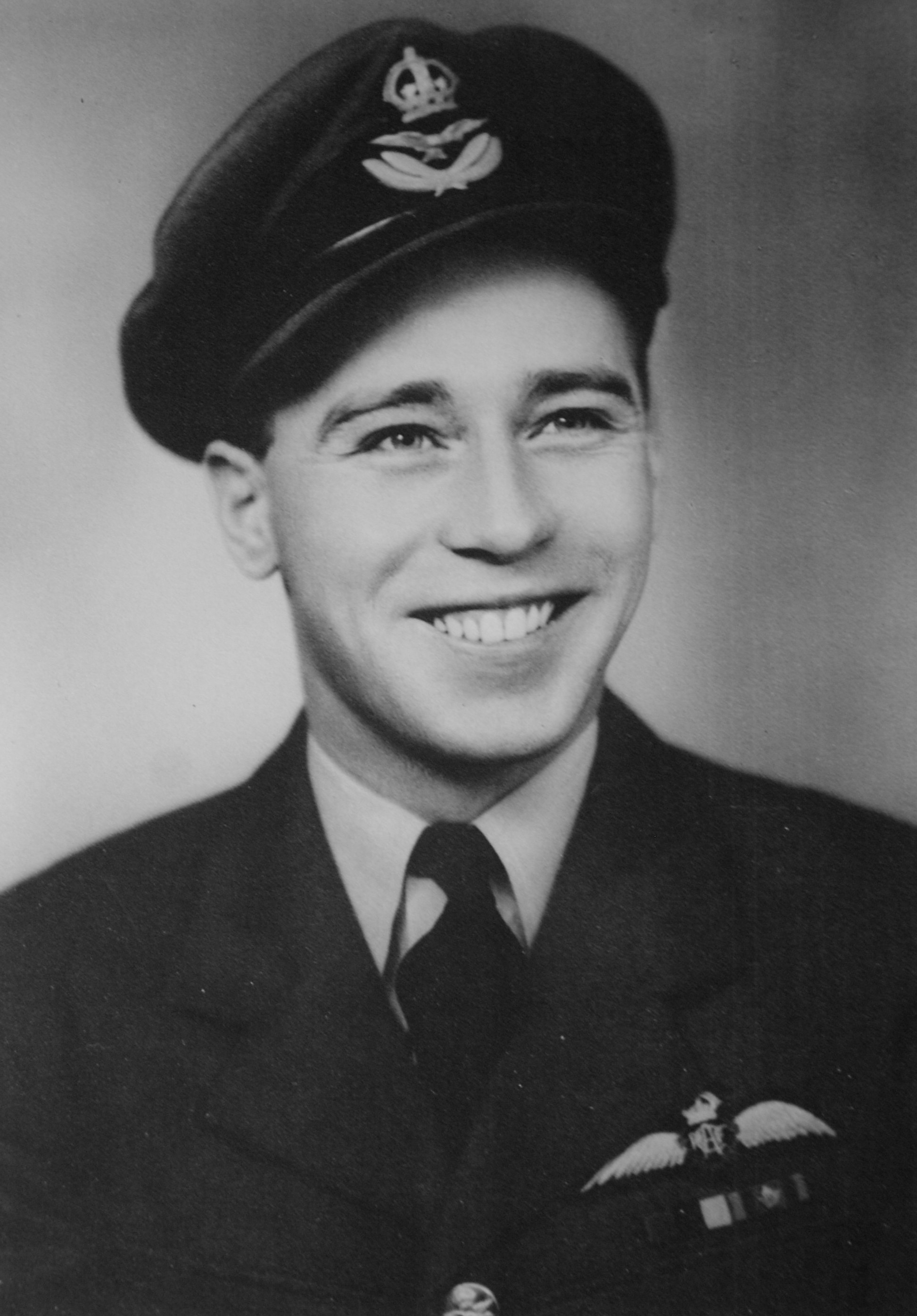 Flight Lieutenant John Colton, age 22. PHOTO: Courtesy Flight Lieutenant (retired) John Colton