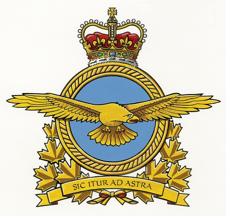 Insignia and Motto of the modern RCAF