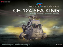 CH-124 Sea King - Vue de face